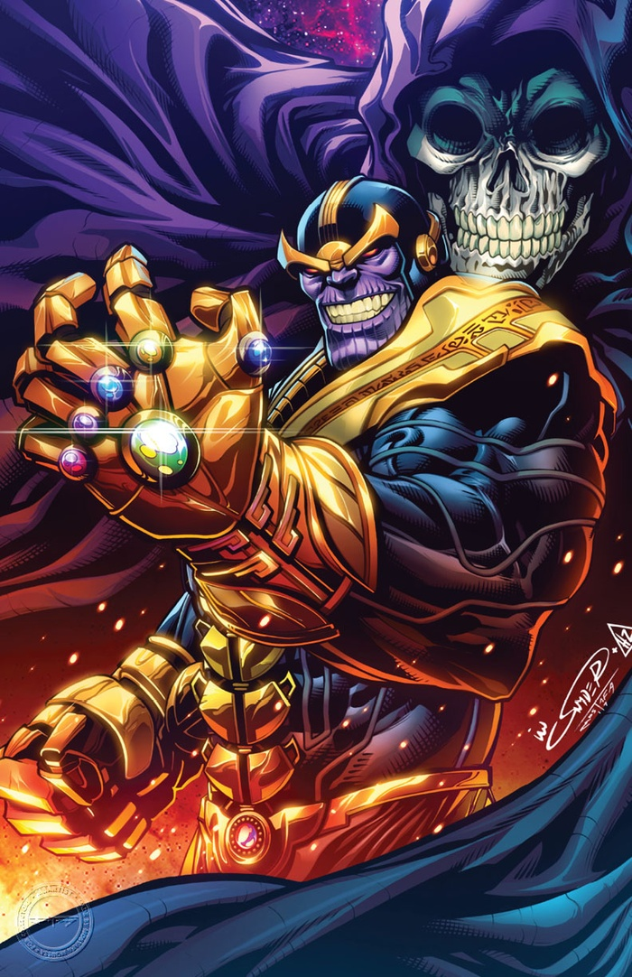 THANOS: COURTING DEATH